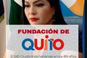 GAD CRUCITA RINDE HOMENAJE A LA CAPITAL DEL ECUADOR, QUITO, EN SUS 486 AÑOS DE FUNDACIÓN